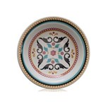 Prato Fundo Porcelana 22 Cm Floreal Luiza Oxford - OXF 220 - AMARELO