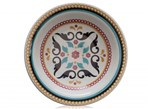Prato Fundo Porcelana 22 Cm Floreal Luiza Oxford - OXF 220