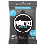 Ficha técnica e caractérísticas do produto Preservativo Prudence Cabeção 3 Unidades