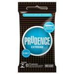 Ficha técnica e caractérísticas do produto Preservativo Prudence Extreme 3 Unidades