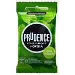 Ficha técnica e caractérísticas do produto Preservativo Prudence Hortelã 3 Unidades
