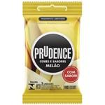 Ficha técnica e caractérísticas do produto Preservativo Prudence Melão 3 Unidades