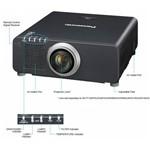Projetor Panasonic Pt- Dz870 8500 Lumens