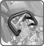 Ficha técnica e caractérísticas do produto Protetor de Motor e Carenagem Aço Carbono Preto Yamaha MT07 2015 em Diante - Scam