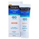 Ficha técnica e caractérísticas do produto Protetor Solar Facial Neutrogena Sun Fresh com Cor Controle de Brilho FPS 60 - 50ml