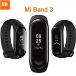Pulseira Inteligente Mi Band 3 Smart Watch para Android e IOS Preto ORIGINAL - Xmi