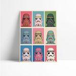 Ficha técnica e caractérísticas do produto Quadro Decorativo - Darth Vader Pop - Quadro 20x30