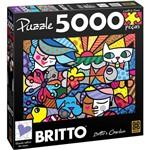 Quebra Cabeça Romero Brito Britto's Garden 5000 Peças - Grow
