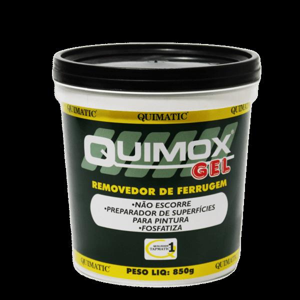 Ficha técnica e caractérísticas do produto Quimox Gel 850g - Removedor de Ferrugem - Tapmatic