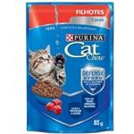 Ração Nestlé Purina Cat Chow Filhotes Sachê Carne ao Molho - 85 Gr