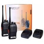 Ficha técnica e caractérísticas do produto Radio Comunicador Baofeng 777s Walk Talk Uhf Vhf 12km