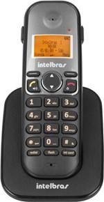 Ficha técnica e caractérísticas do produto Ramal Telefone Sem Fio Ts 5121 Preto Intelbras