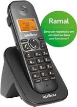 Ficha técnica e caractérísticas do produto Ramal Telefone Sem Fio Ts 5121 Preto - Intelbras