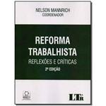 Ficha técnica e caractérísticas do produto Reforma Trabalhista - 02ed/18