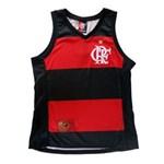 Ficha técnica e caractérísticas do produto Regata Braziline Flamengo Hoop Crf Feminino - G - VRM/PRT