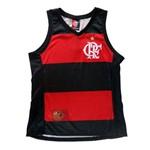 Ficha técnica e caractérísticas do produto Regata Braziline Flamengo Hoop Crf Feminino - Tam G