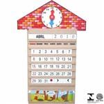 Relógio Calendário 58 Pçs 1060 Carlu