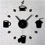 Ficha técnica e caractérísticas do produto Relógio de Parede Criativo para Cozinha ou Sala - Aladimshop