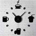 Relógio de Parede Criativo para Cozinha ou Sala