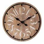 Ficha técnica e caractérísticas do produto Relógio de Parede London de Madeira Ø60cm
