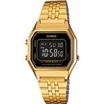 Relógio Feminino Casio Digital Vintage LA680WGA-1BDF