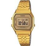 Relógio Feminino Casio Digital Vintage LA680WGA-9DF