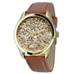 Relógio Feminino Euro EU2036AJM/2M Redondo – Marrom