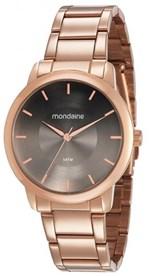 Ficha técnica e caractérísticas do produto Relógio Feminino Mondaine 53606LPMVRE4 40mm Aço Rosê