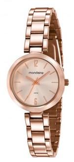 Ficha técnica e caractérísticas do produto Relógio Feminino Mondaine 53611LPMVRE2 32mm Aço Rose