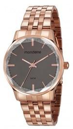 Ficha técnica e caractérísticas do produto Relógio Feminino Mondaine 53642LPMVRE2 40mm Aço Rose