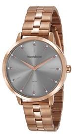 Ficha técnica e caractérísticas do produto Relógio Feminino Mondaine 53659LPMVRE3 42mm Aço Rose
