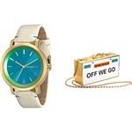 Relógio Feminino Mondaine Analógico Fashion 94767LPMVDH3K1 + Bolsa