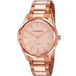 Ficha técnica e caractérísticas do produto Relógio Feminino Mondaine Rosé 53776lpmvre2