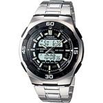 Relógio Masculino Casio Analógico/Digital Social AQ-164WD-1AVDF