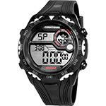 Relógio Masculino Clubes Technos Digital Casual Corinthians COR1360/8P