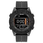Ficha técnica e caractérísticas do produto Relógio Masculino Mormaii Action MO5334AA/8P 51mm Silicone Preto
