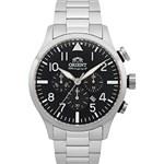 Relógio Masculino Orient Cronógrafo Prata MBSSC119 P2SX