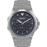 Relógio Masculino Orient Multifunção Prata MBSSM043 G2SX