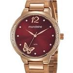 Ficha técnica e caractérísticas do produto Relógio Mondaine Feminino 53758LPMVRE2 Rosê
