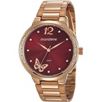 Relógio Mondaine Feminino 53758LPMVRE2