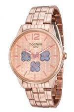 Ficha técnica e caractérísticas do produto Relógio Mondaine Feminino 78737LPMVRA1 Rosê