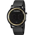 Ficha técnica e caractérísticas do produto Relógio Mondaine Feminino Preto 53787LPMVPE3