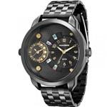 Ficha técnica e caractérísticas do produto Relógio Mondaine Feminino Preto 76544LPMVPE6