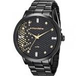 Ficha técnica e caractérísticas do produto Relógio Mondaine Feminino Preto 76708LPMVPE3