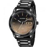 Ficha técnica e caractérísticas do produto Relógio Mondaine Feminino Preto 76725LPMVPE1