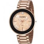 Ficha técnica e caractérísticas do produto Relógio Mondaine Feminino Rosê 53613LPMVRE3