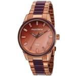 Ficha técnica e caractérísticas do produto Relógio Mondaine Feminino Rosê 53663lpmvre2