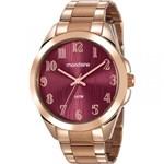 Ficha técnica e caractérísticas do produto Relógio Mondaine Feminino Rosê 78749LPMVRA2