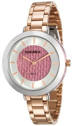 Ficha técnica e caractérísticas do produto Relógio Mondaine Feminino Rose 99172LPMVRE4