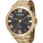 Relógio Mondaine Masculino Dourado 99269GPMVDE1